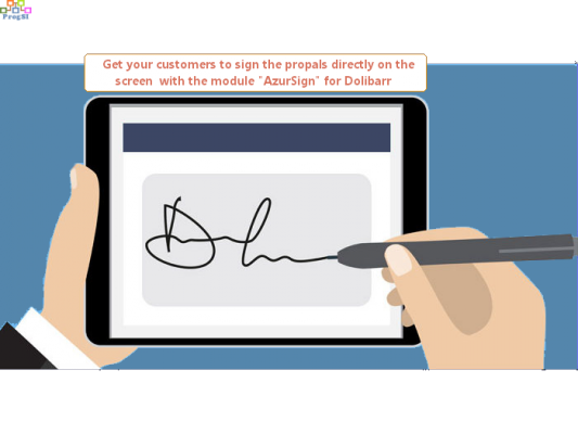 AzurSign, Electronic Signature for Dolibarr Propals / Quotes