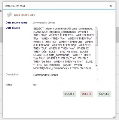 Pivot Reports - Edit / Delete a Data source